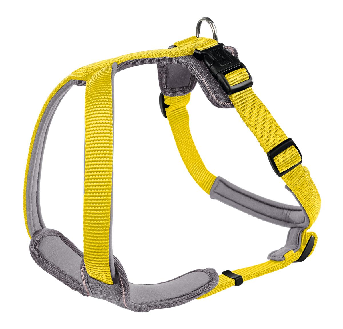 Harness Neoprene XS 38-48 cm, 15 mm yellow/grey