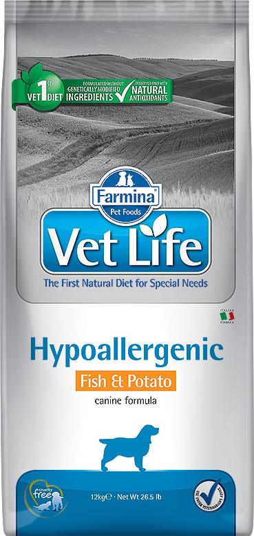 FARMINA VET LIFE ND DOG HYPOALLERGENIC FISH & POTATO 12 KG