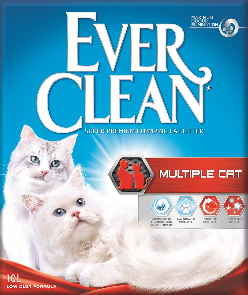 Ever Clean Multiple Cat, 10 ltr