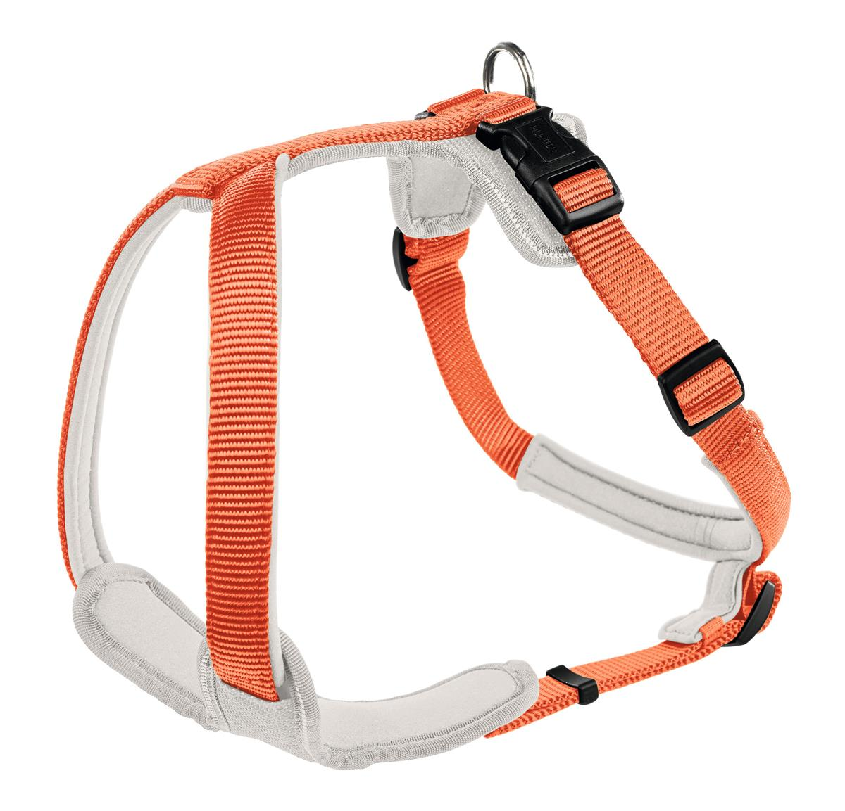 Harness Neoprene M 53-65 cm, 20 mm orange/creme