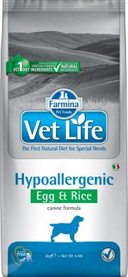 FARMINA VET LIFE ND DOG HYPOALLERGENIC EGG & RICE 2 KG
