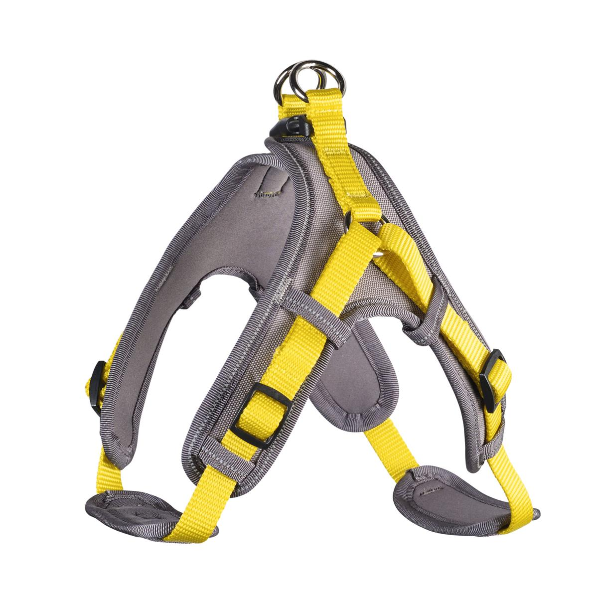 Harness Neoprene Vario Quick S 45-55 cm, 15 mm yellow