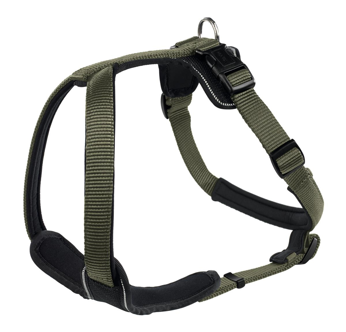Harness Neopren XS 38-48 cm, 15 mm Nylon green/Neopren black