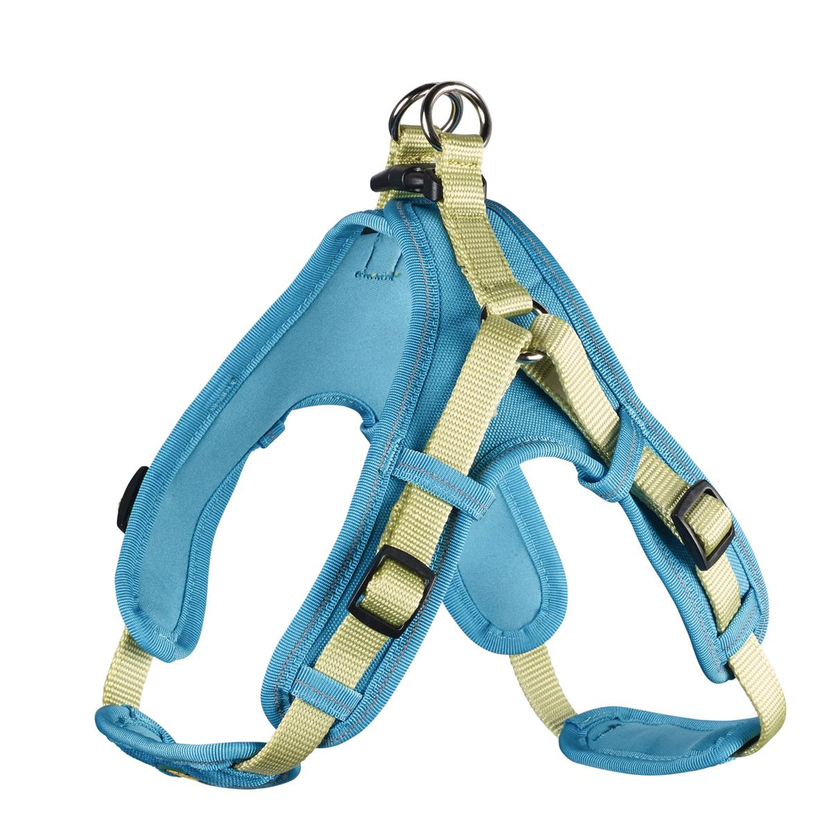Harness Neoprene Vario Quick L 67-80 cm, 25 mm petrol