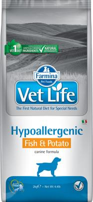 FARMINA VET LIFE ND DOG HYPOALLERGENIC FISH & POTATO 2 KG