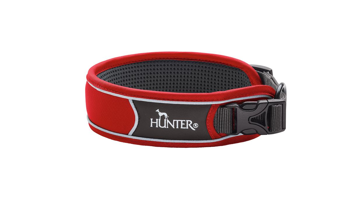 Collar Divo S red/grey