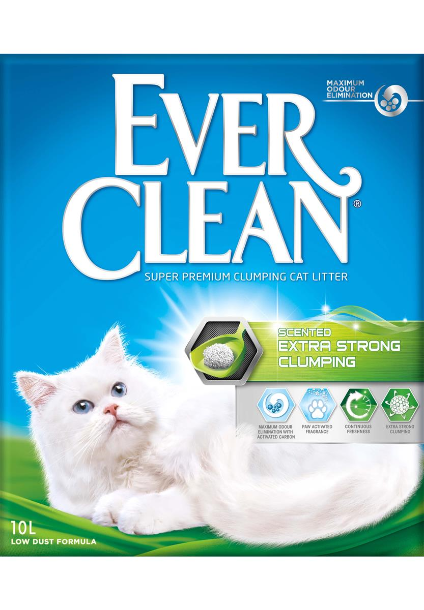 Ever Clean Extra Strong Clumping Scented, 10 ltr