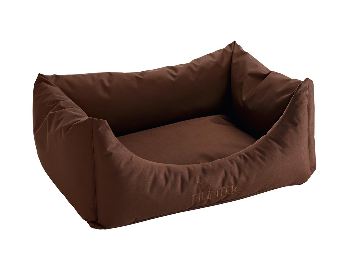 Dog sofa Gent antibac 45x60 cm brown, water/soil repellent
