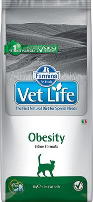 FARMINA VET LIFE ND CAT OBESITY 2 KG