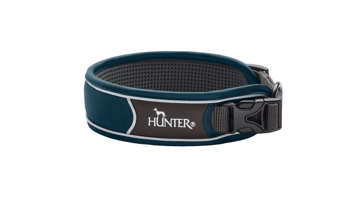 Collar Divo S petrol-blue/grey