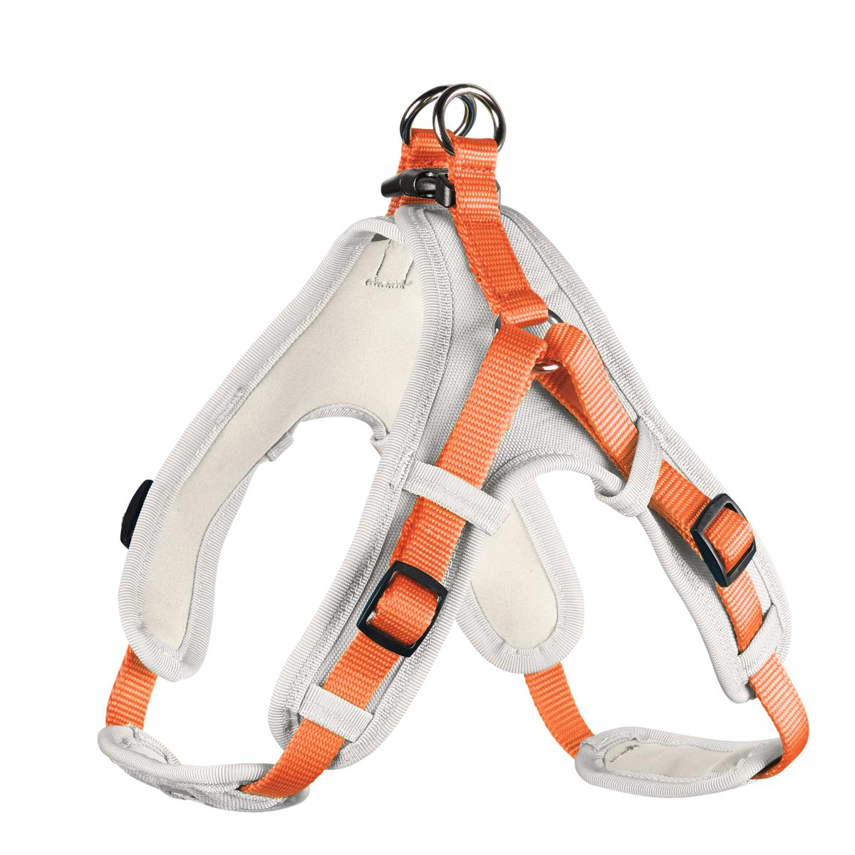 Harness Neoprene Vario Quick M 55-70 cm, 15 mm orange