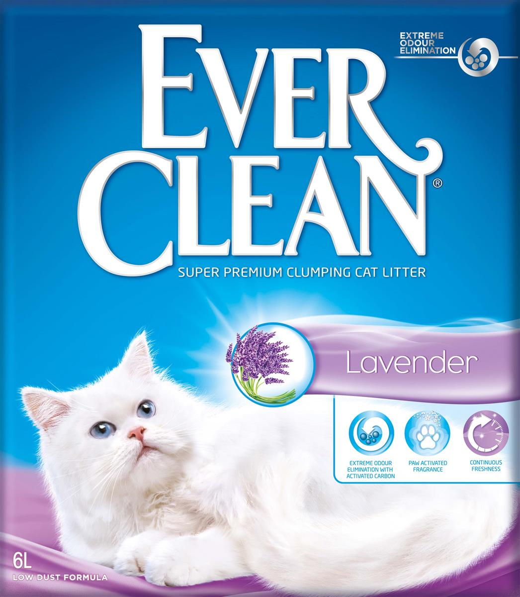 Ever Clean Lavender, 6 ltr