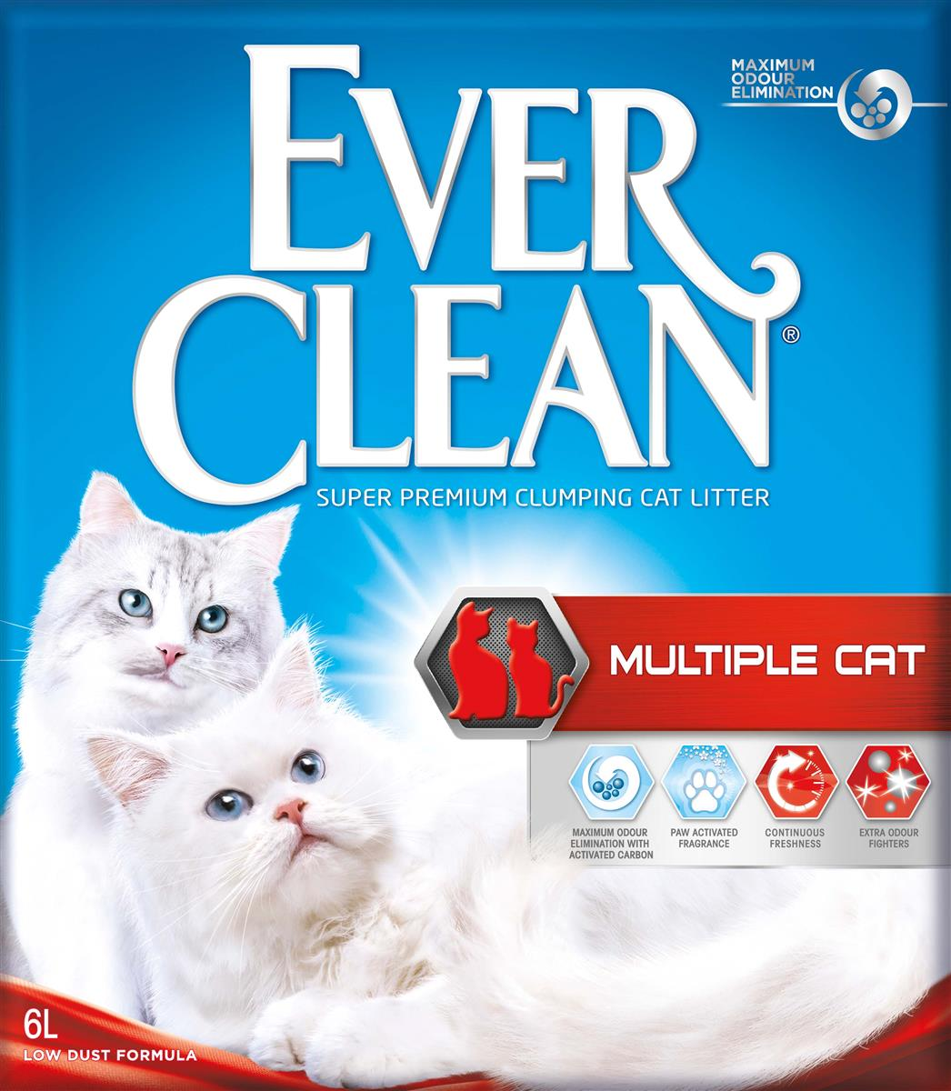 Ever Clean Multiple Cat, 6 ltr