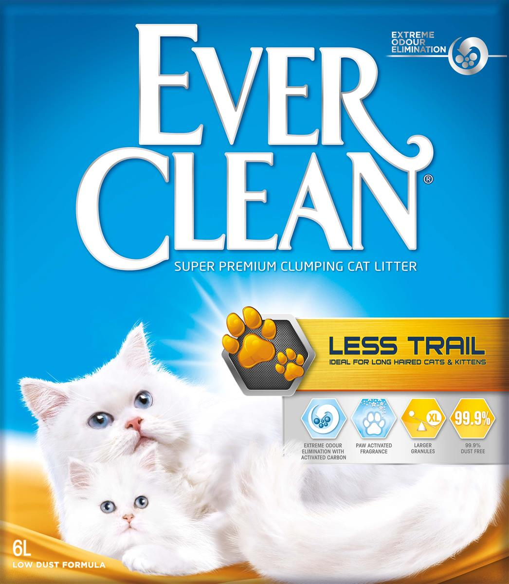 Ever Clean Less Trail, 6 ltr