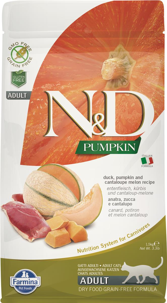 FARMINA N&D CAT PUMPKIN DUCK ADULT 1,5 KG