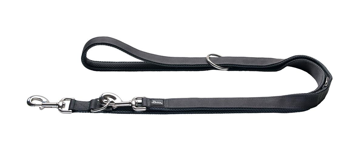 Adjustable leash Divo 15/200 grey/grey