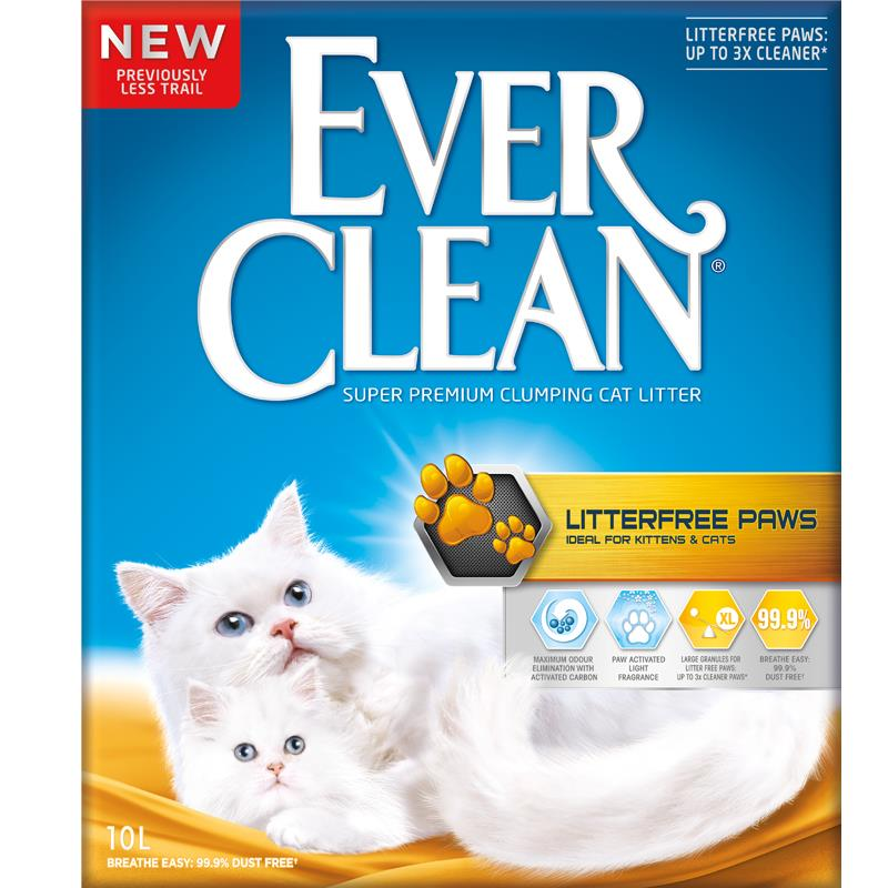 Ever Clean Litter Free Paws, 10 ltr
