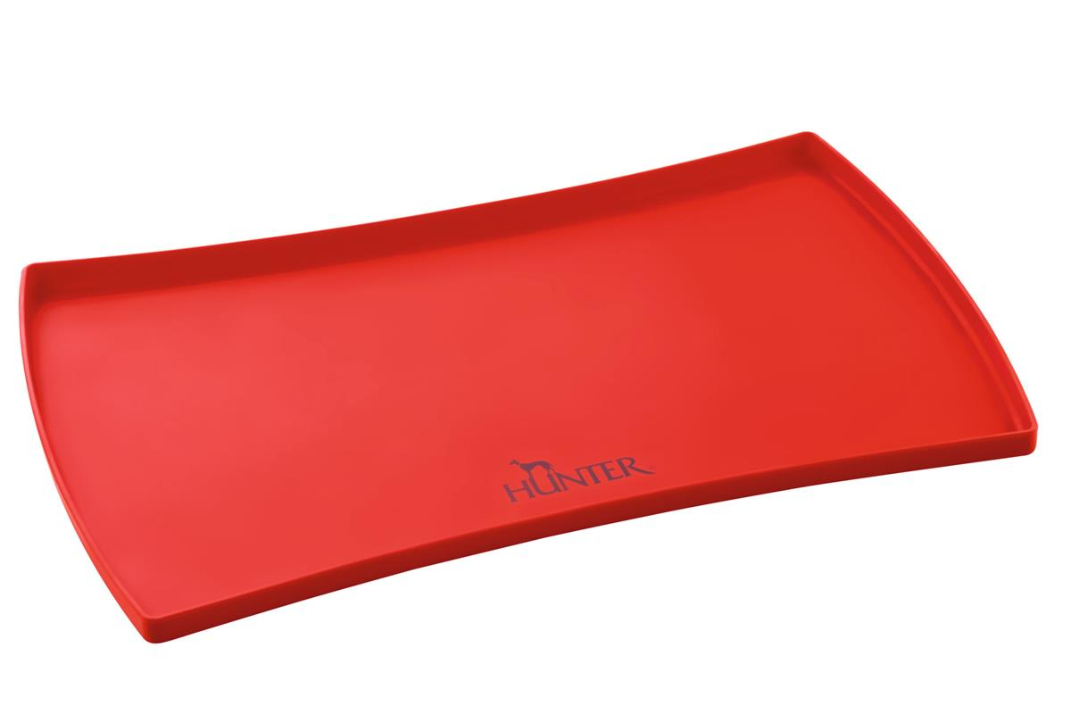Silicone Pad for Bowls S Selection, red 48x30 cm