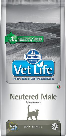 FARMINA VET LIFE ND CAT NEUTERED MALE 5 KG