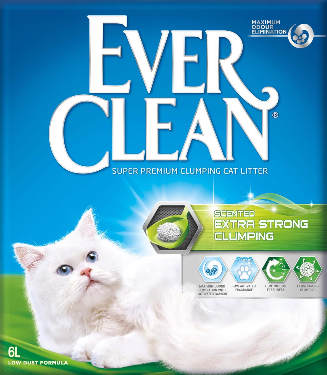 Ever Clean Extra Strong Clumping Scented, 6 ltr