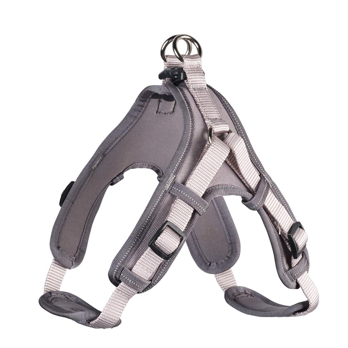 Harness Neoprene Vario Quick XS, 38-45 cm, 15 mm grey