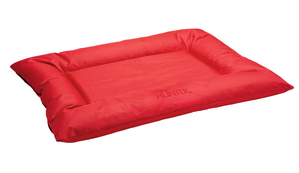 Dog Bed Gent antibac 80x60 cm red, water/soil repellent