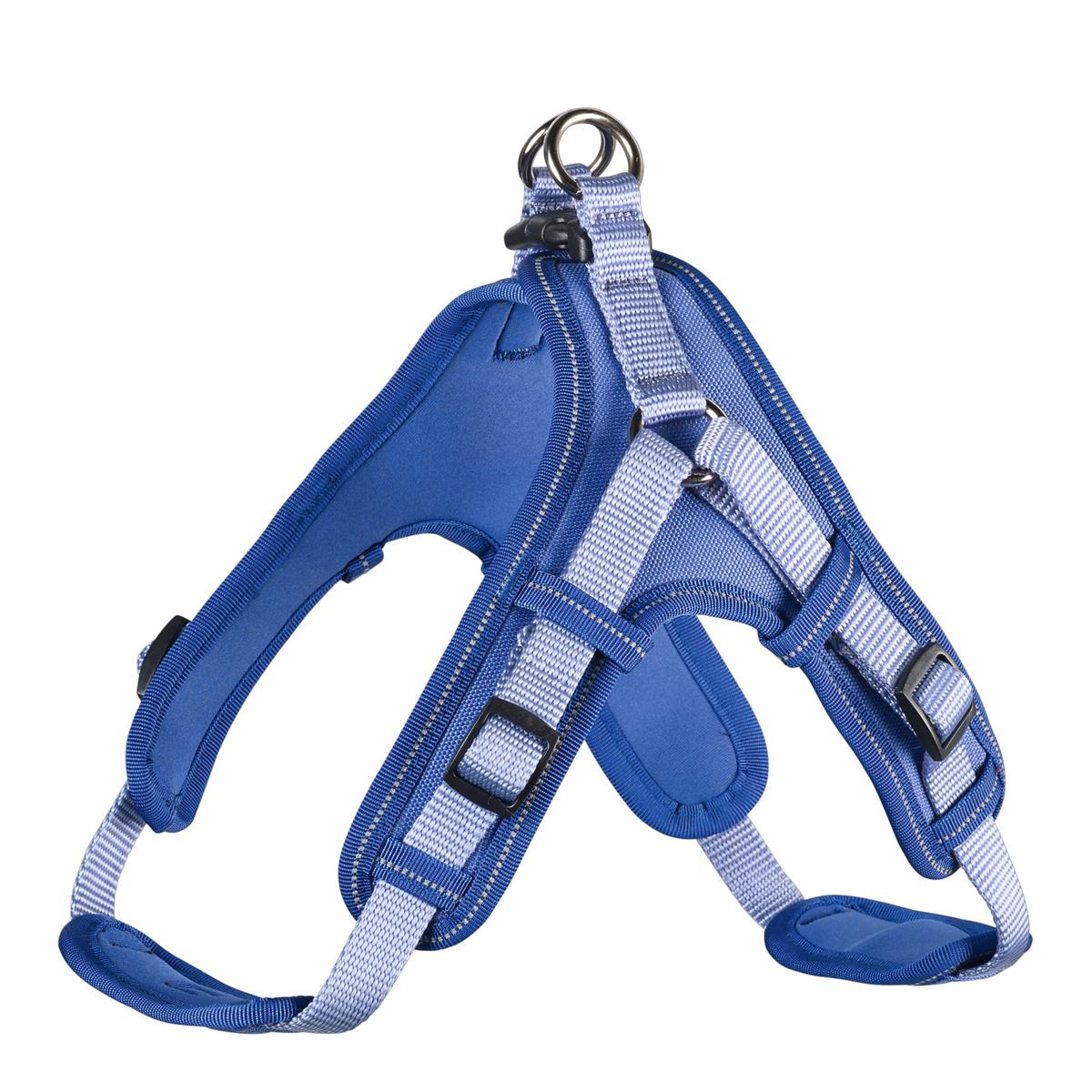 Harness Neoprene Vario Quick L 67-80 cm, 25 mm blue