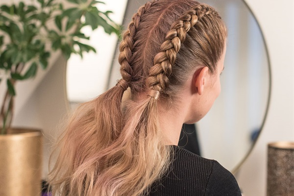 Nyttårshåret med Sandra Lyng - Twin Party Braid