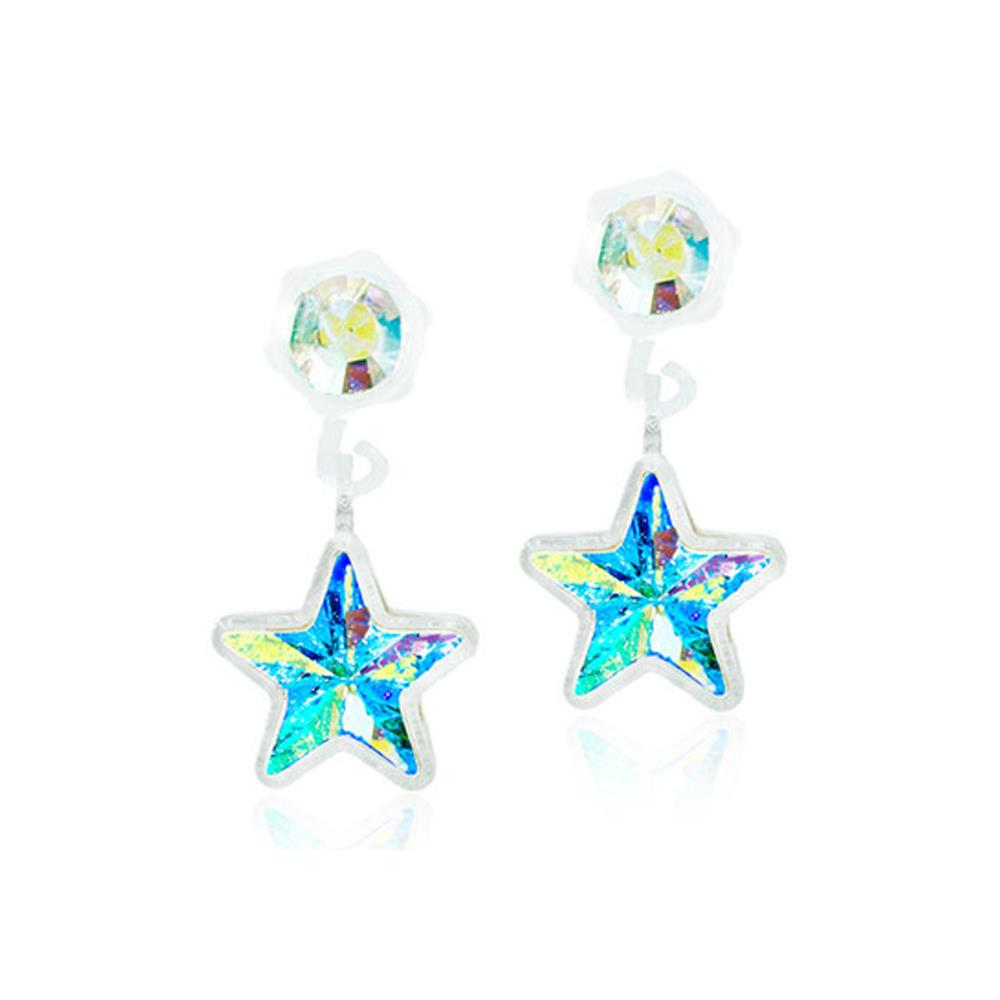 CJ MP PENDANT STAR RAINBOW 4/6MM