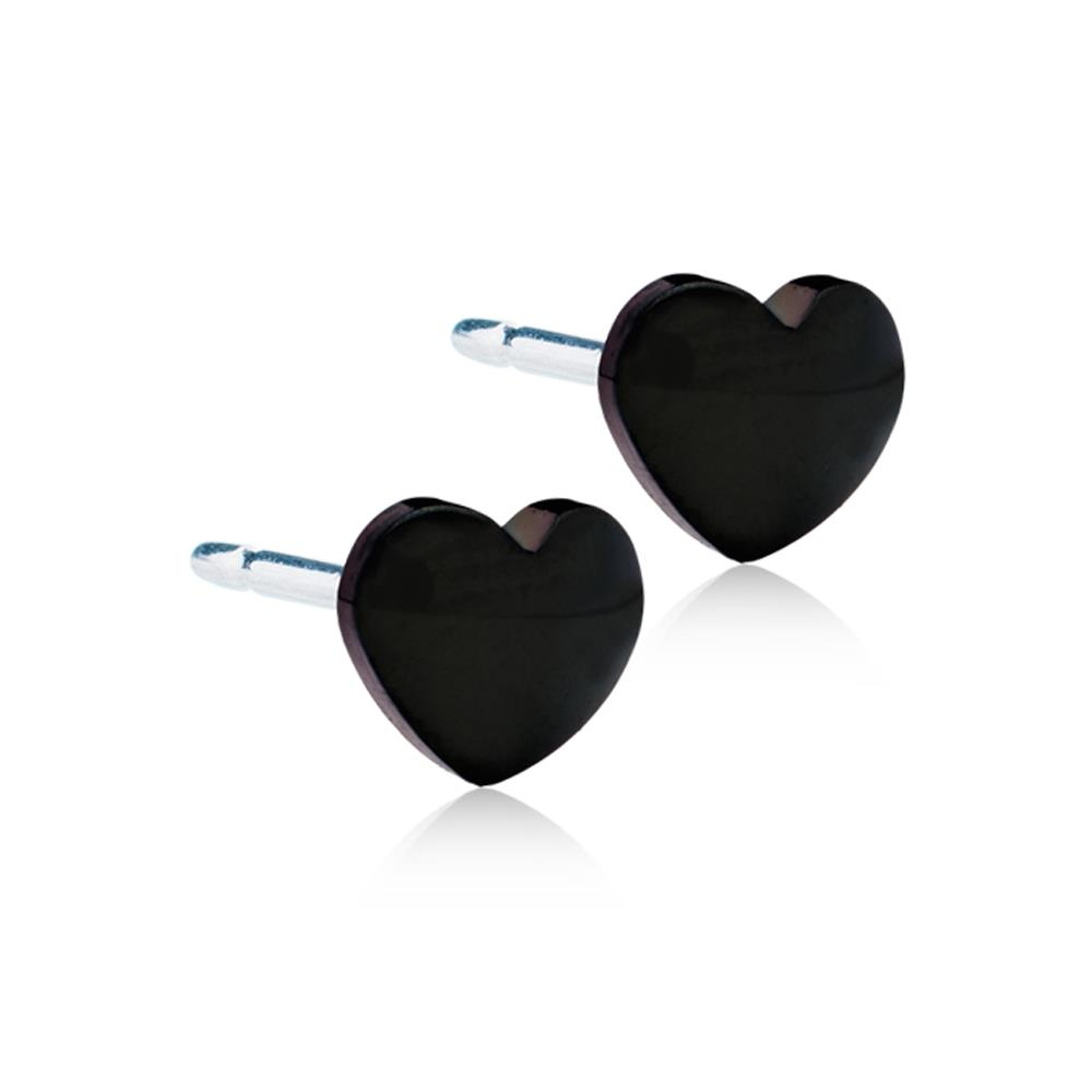 CJ BT HEART BLACK 5MM
