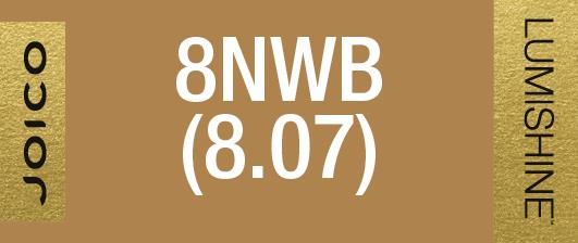 8NWB (8.07) PERMANENT CREME LUMISHINE 74 ML