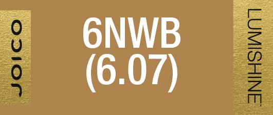 6NWB (6.07) PERMANENT CREME LUMISHINE 74 ML