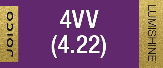 4VV (4.22) PERMANENT CREME LUMISHINE 74 ML