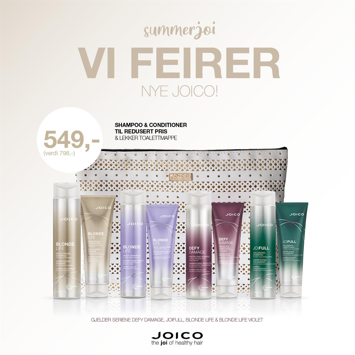 JOICO SUMMERJOI - KAMPANJE APRIL 2020