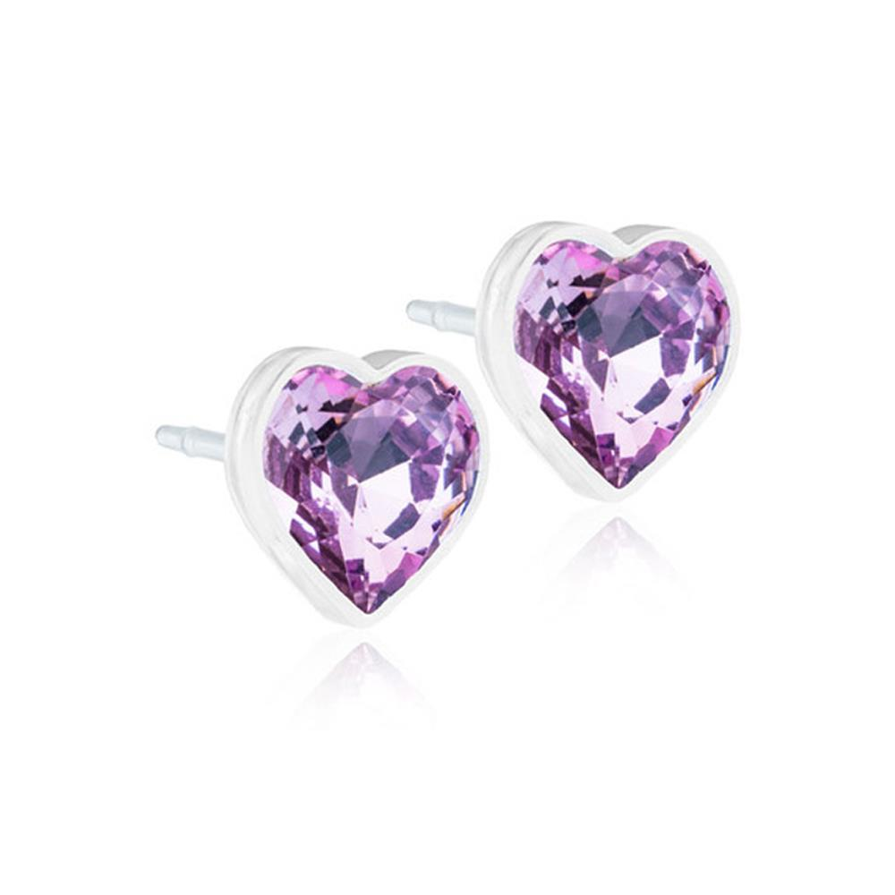 CJ MP HEART LIGHT AMETHYST 6MM