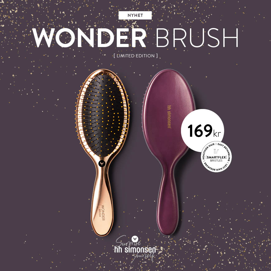 HH SIMONSEN - WONDER BRUSH - NYHET - NOVEMBER 2019