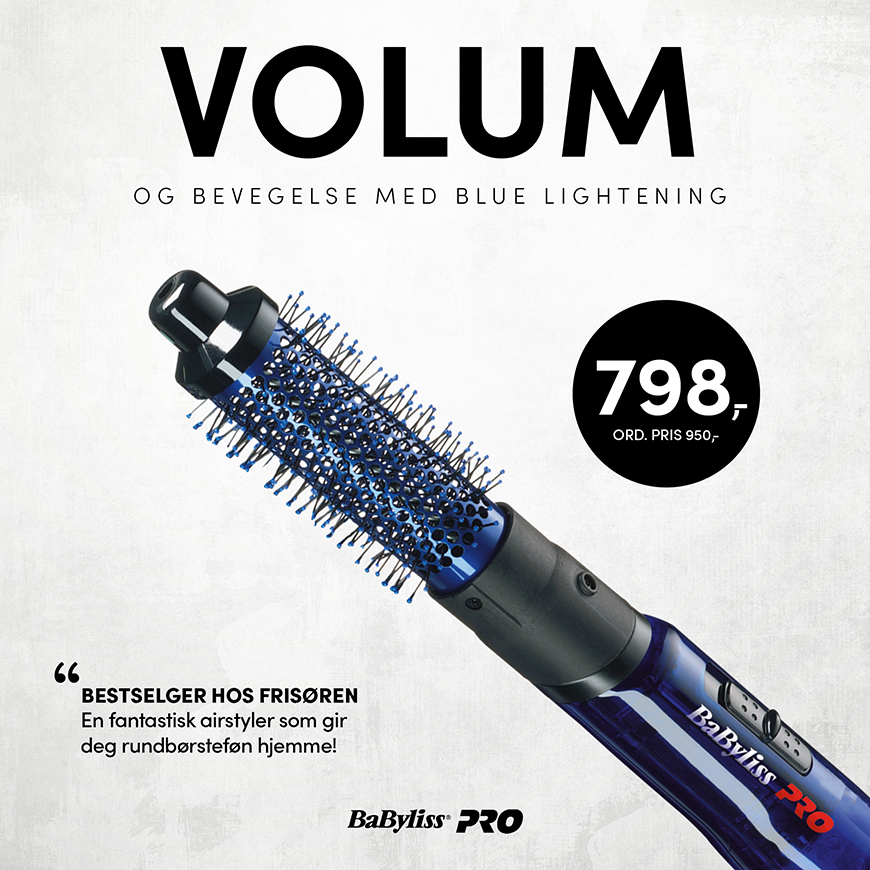 BABYLISS PRO BLUE LIGHTENING - KAMPANJE SEPTEMBER 2020