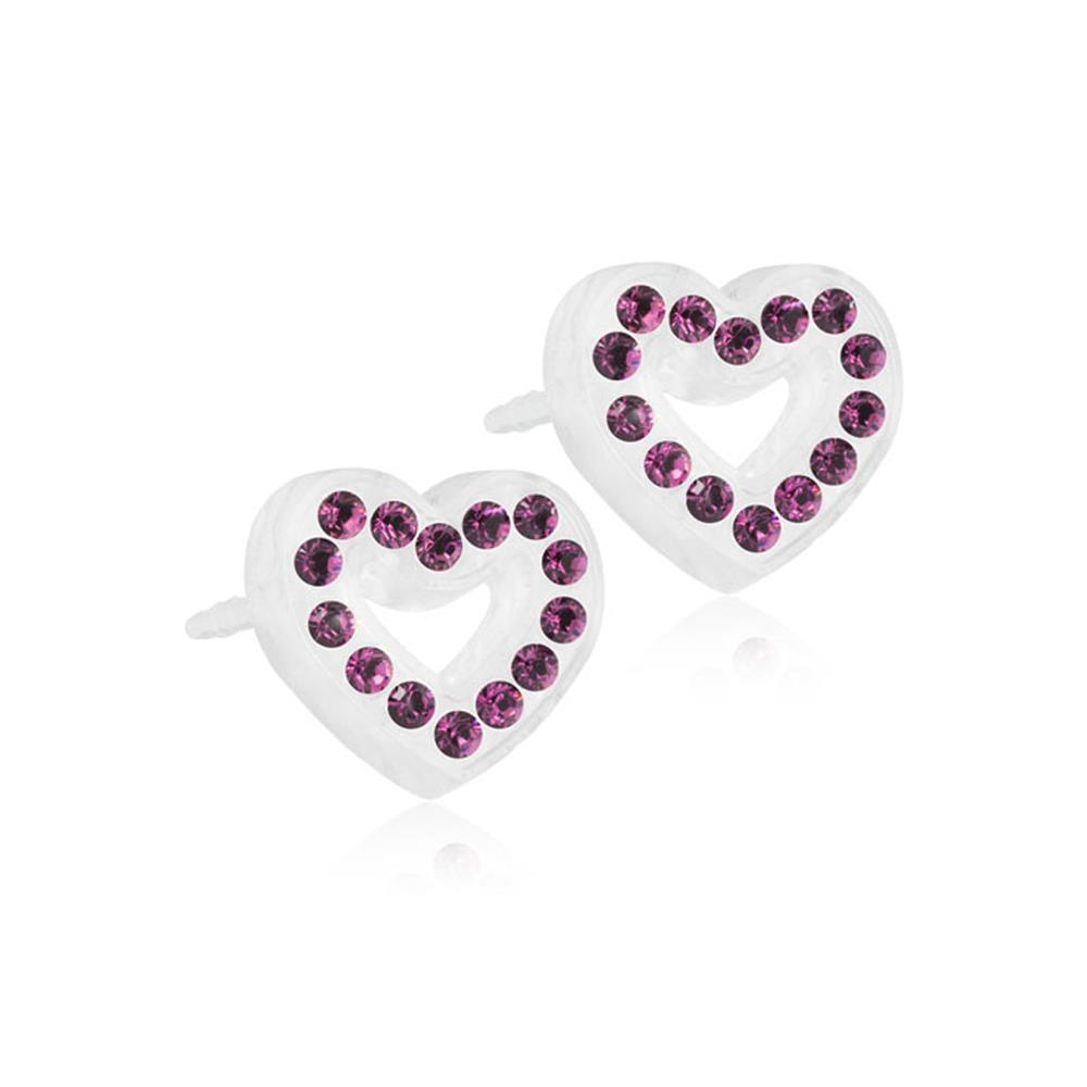 MP BRILL.HEART HOLLOW AMETHYST10MM