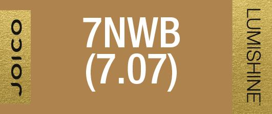 7NWB (7.07) PERMANENT CREME LUMISHINE 74 ML