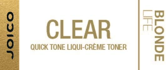 CLEAR BLONDE LIFE QUICK TONER