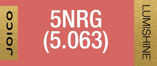 5NRG (5.063) PERMANENT CREME LUMISHINE 74 ML