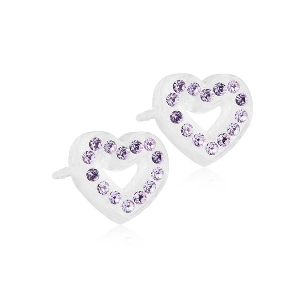 MP BRILL.HEART HOLLOW VIOLET10MM