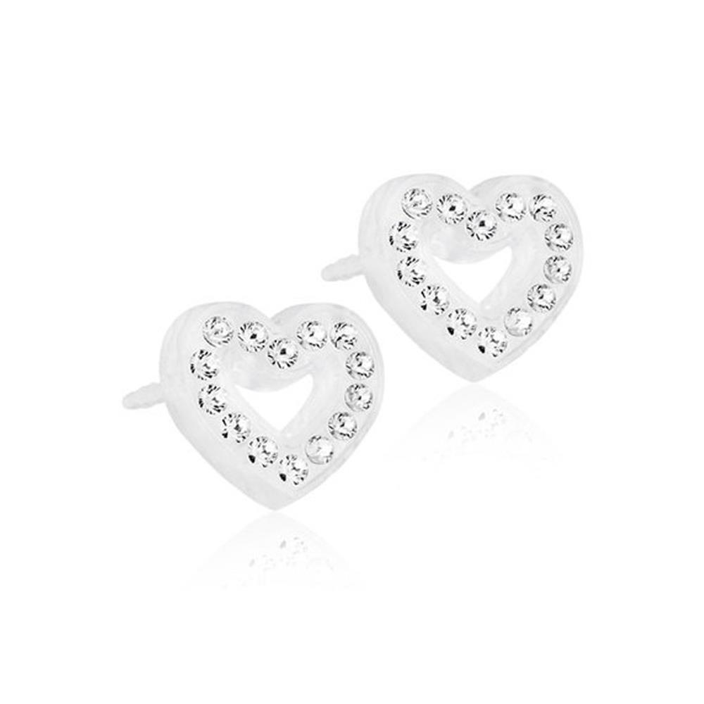 CJ MP BRILL.HEART HOLLOW CRYSTAL10MM