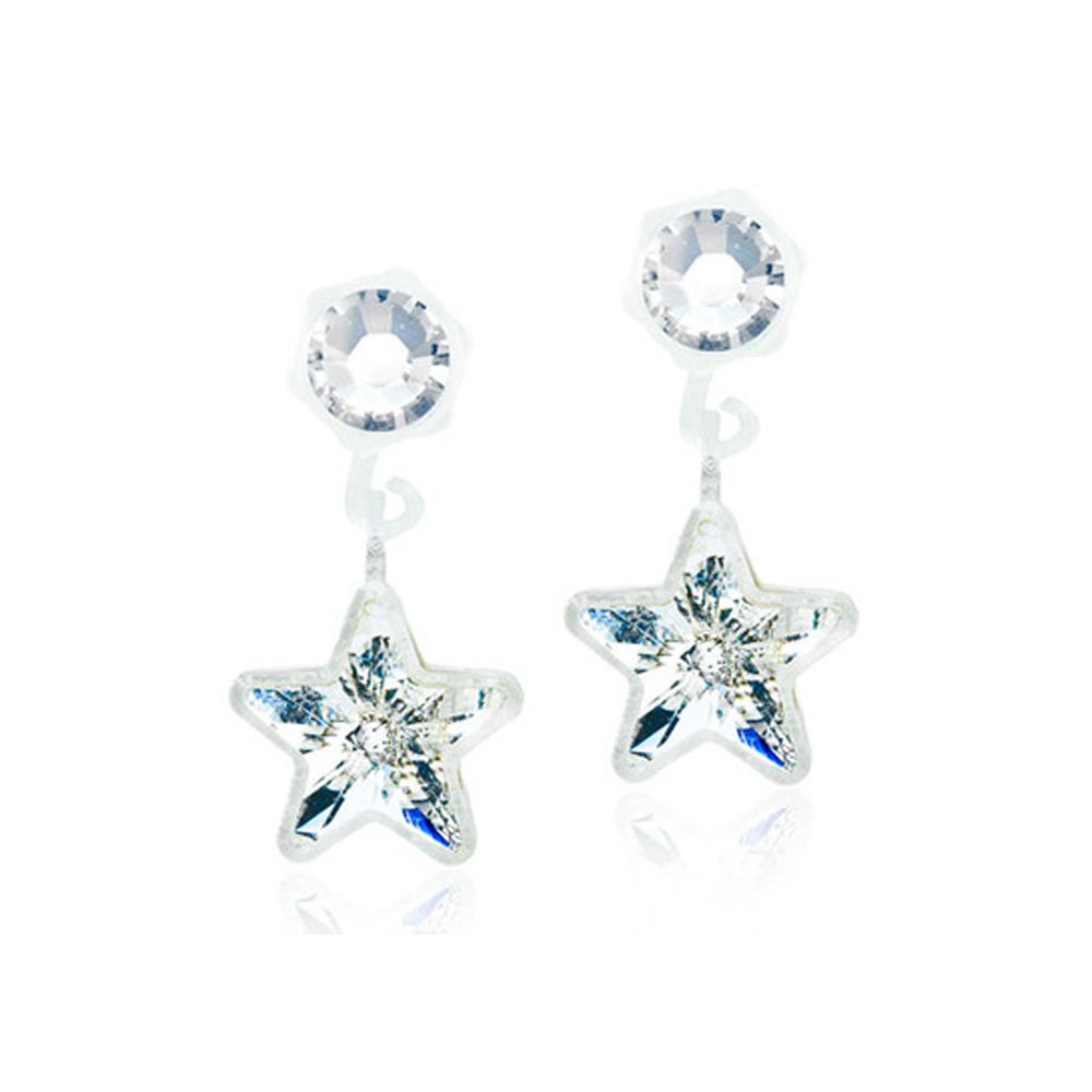 CJ MP PENDANT STAR CRYSTAL 4/6MM