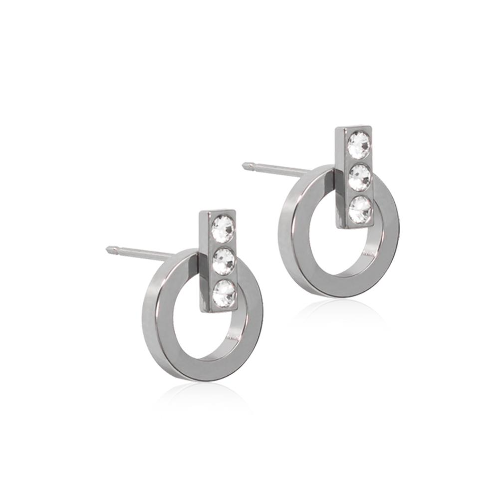 CJ NT CHIC HOLLOW 10/4 MM, CRYSTAL NEW