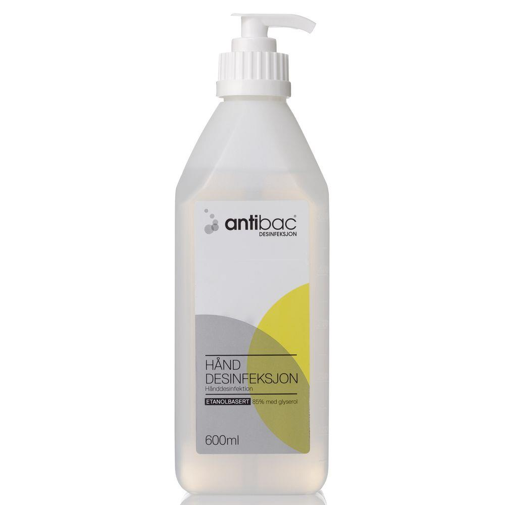 ANTIBAC HÅND 85% 600 ML
