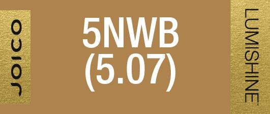 5NWB (5.07) PERMANENT CREME LUMISHINE 74 ML