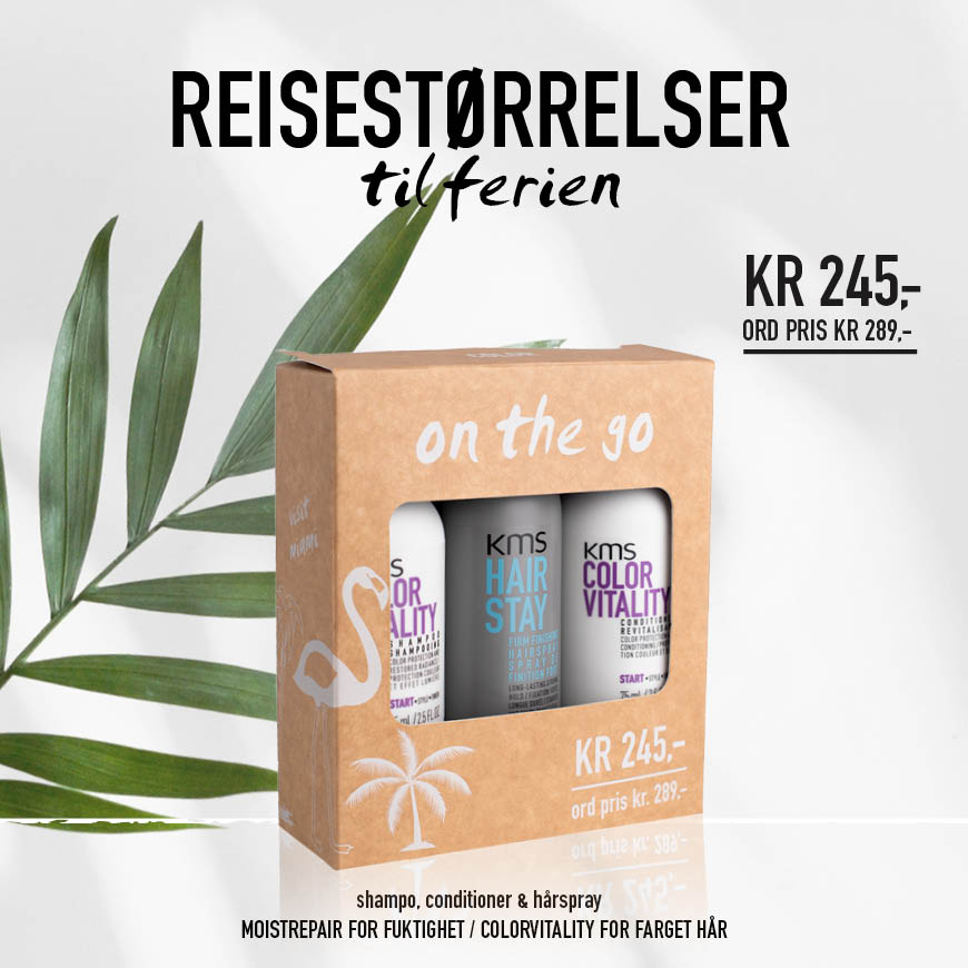 KMS REISEKIT KAMPANJE APRIL