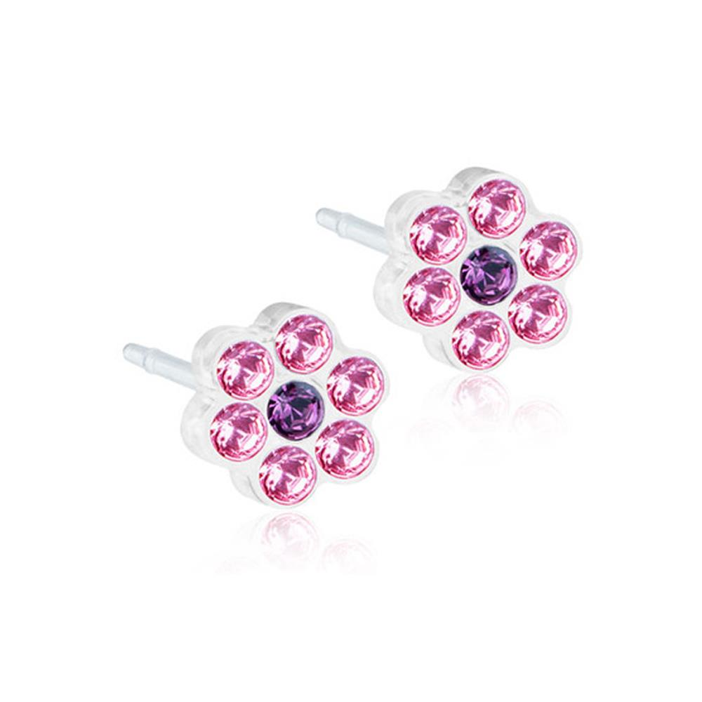 CJ MP DAISY LIGHT ROSE/AMETHYST 5MM