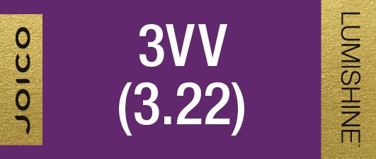 3VV (3.22) PERMANENT CREME LUMISHINE 74 ML